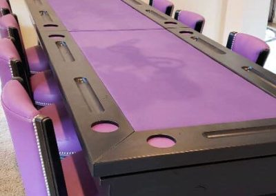 Bar table shuffleboard table