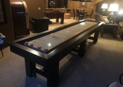 Denver shuffleboard table